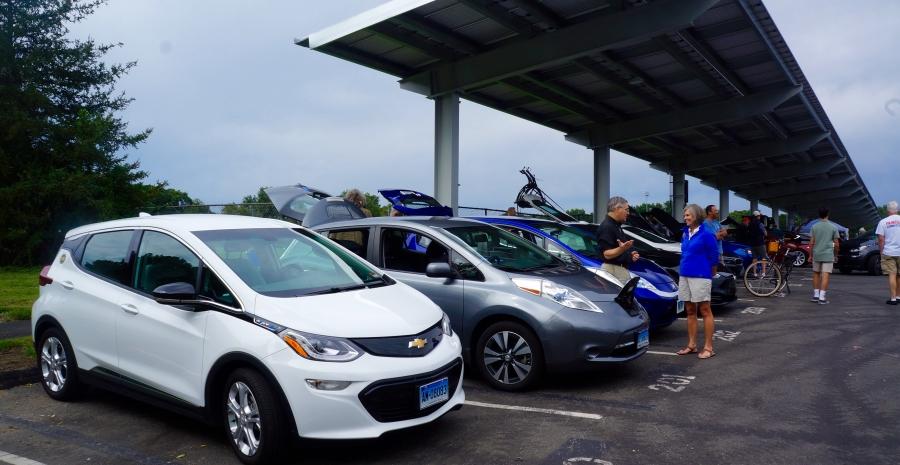 Green Wheels Expo Car Showcase