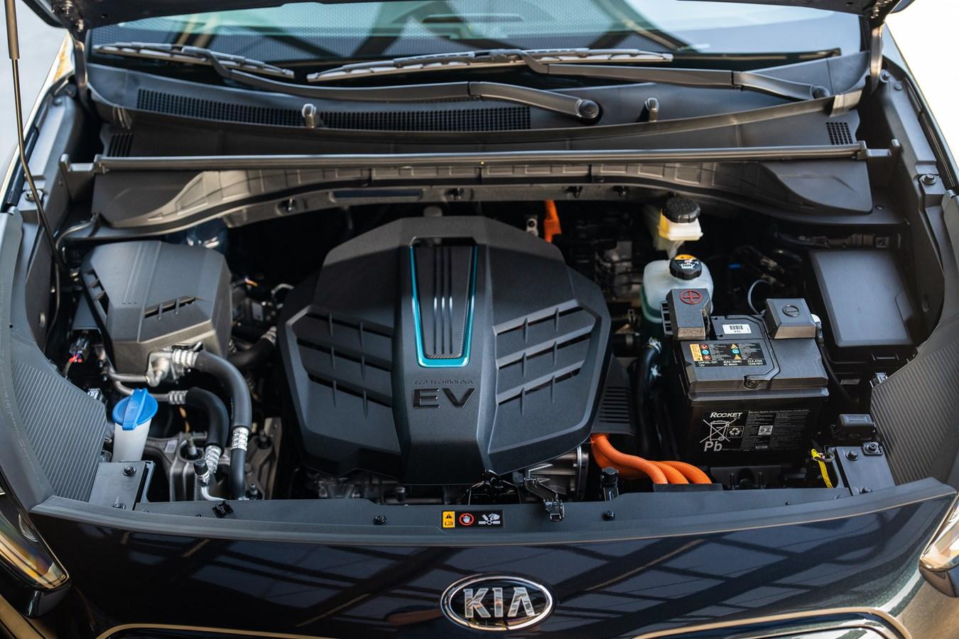 Kia Niro EV under the hood