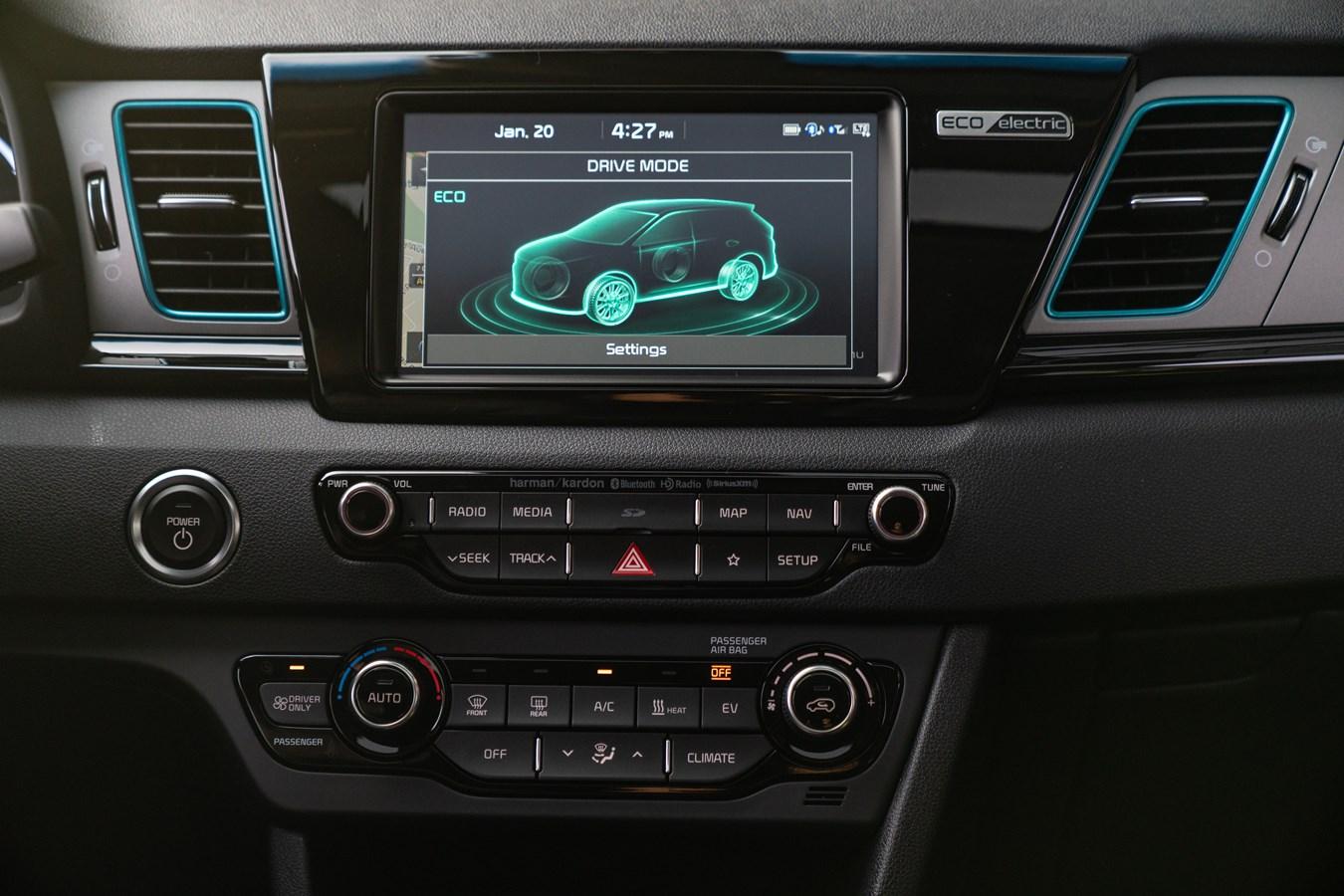 Kia Niro EV Infotainment system