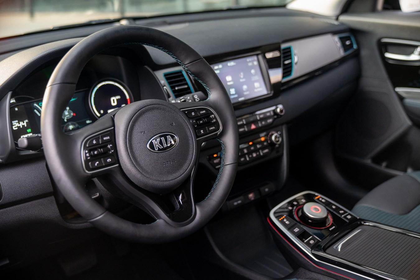 2020 Kia Niro EV dashboard