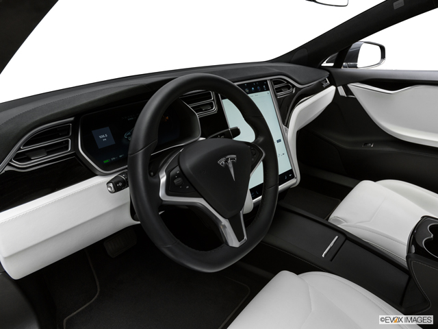 Tesla Model S White Interior