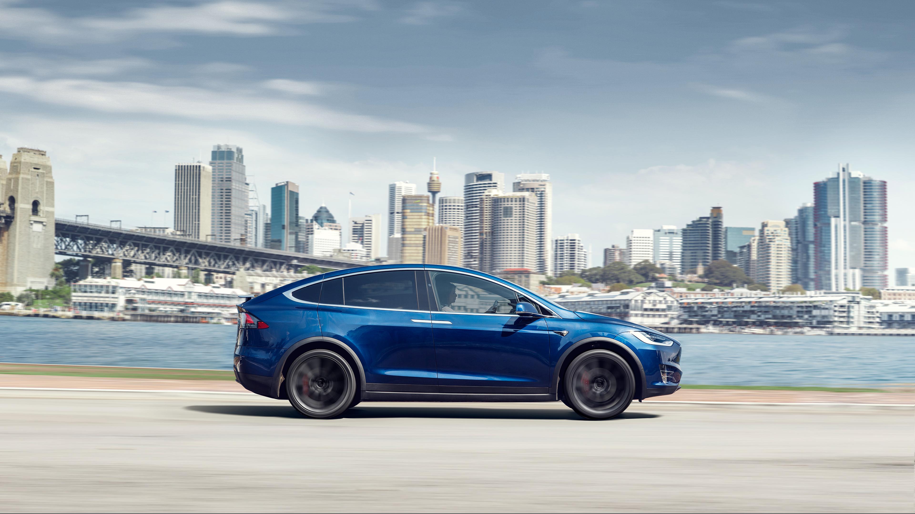 Model X profile blue