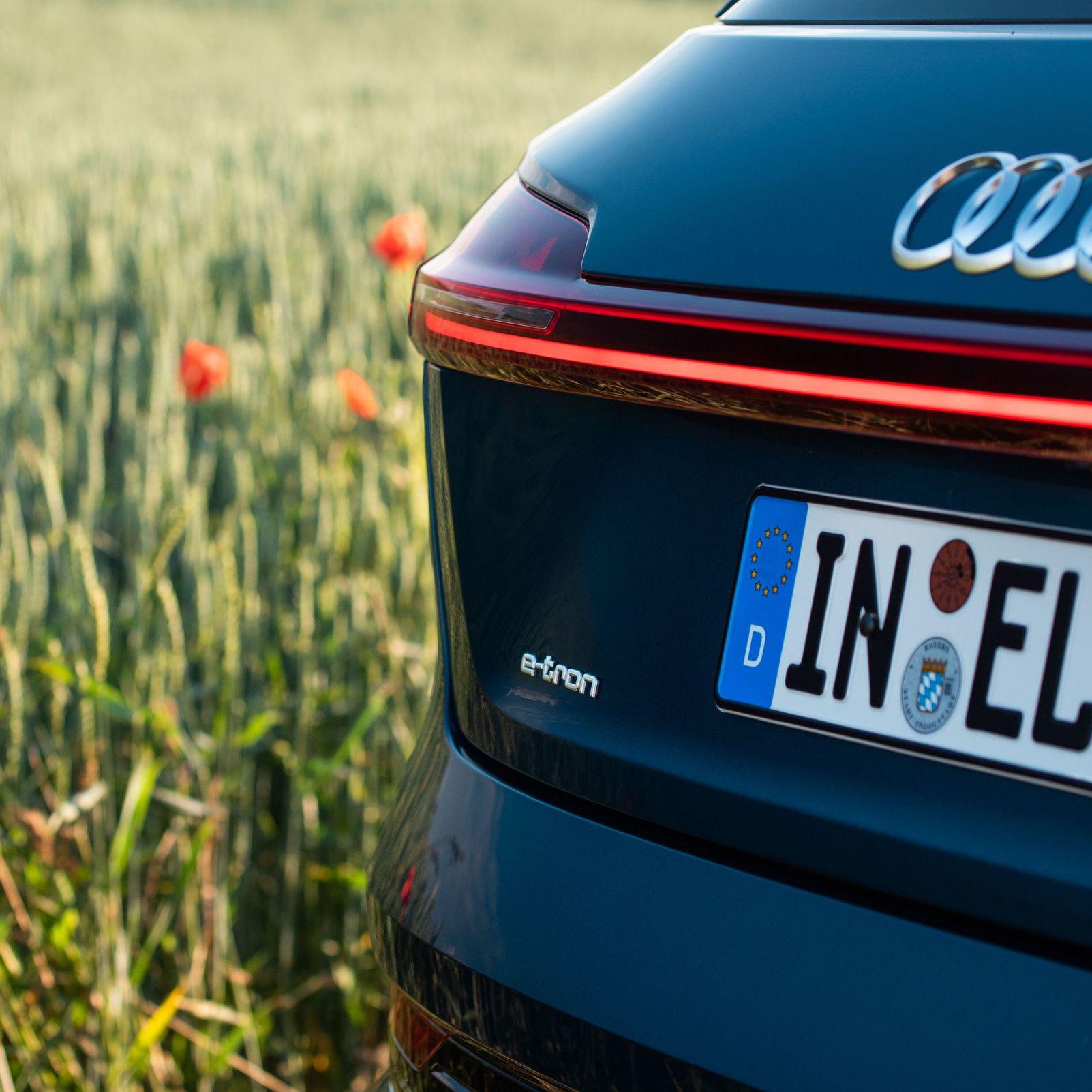 Audi e-tron tail lights