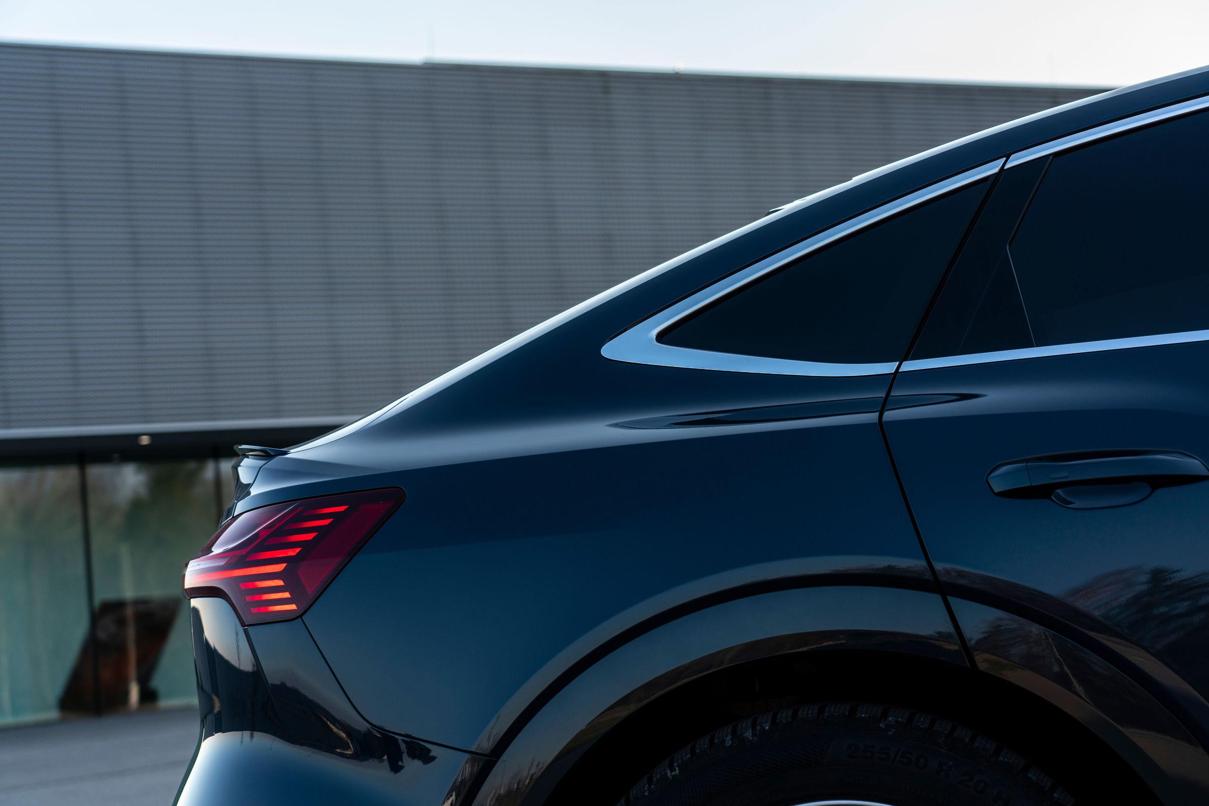 Audi e-tron Sportback rear corner