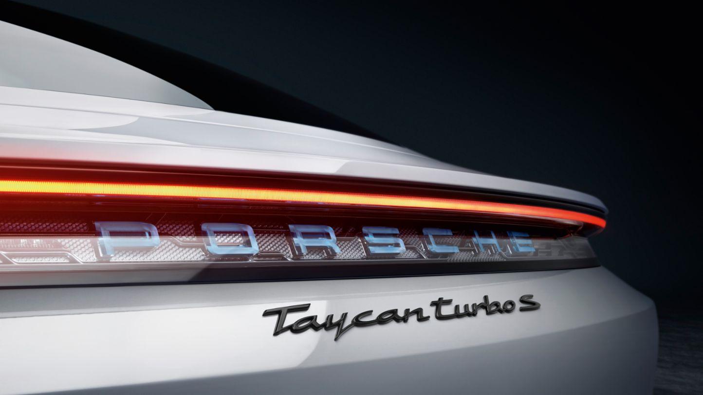 Porsche Taycan tail lights