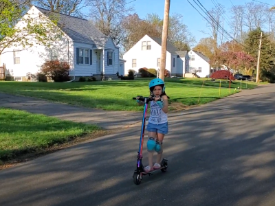 Gracelynn Riding Scooter