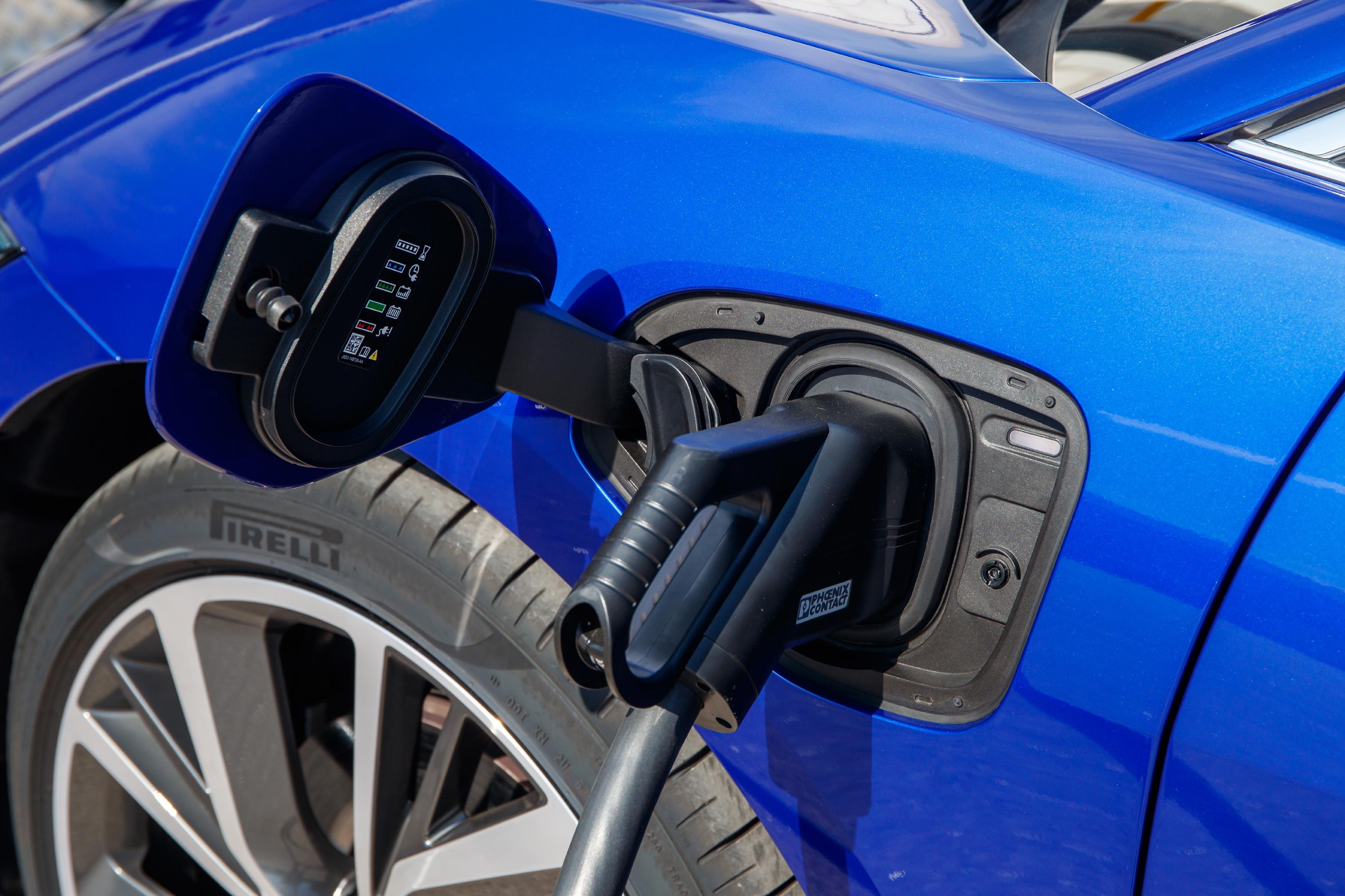 Jaguar I-PACE charging