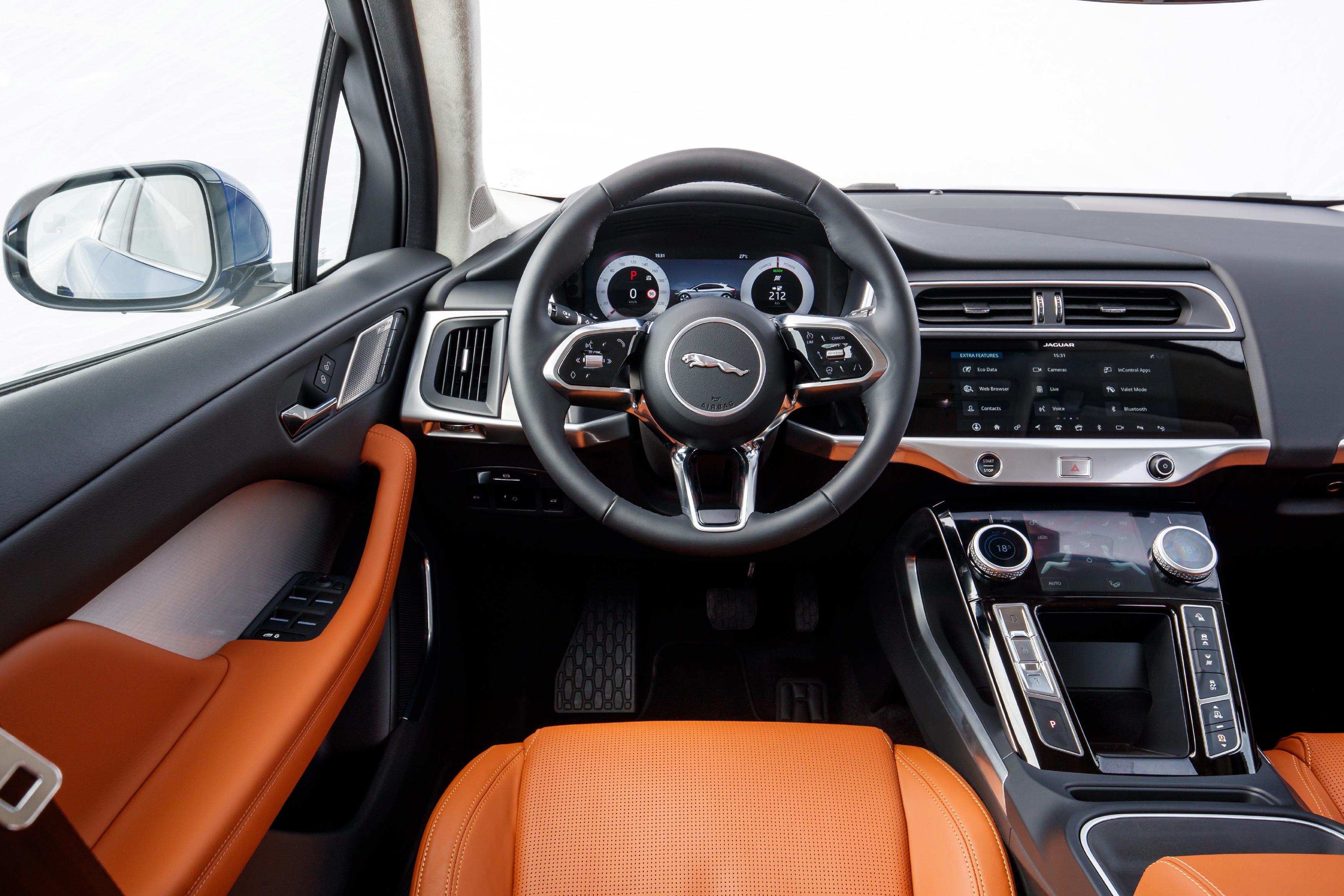 Jaguar I-PACE driver's seat