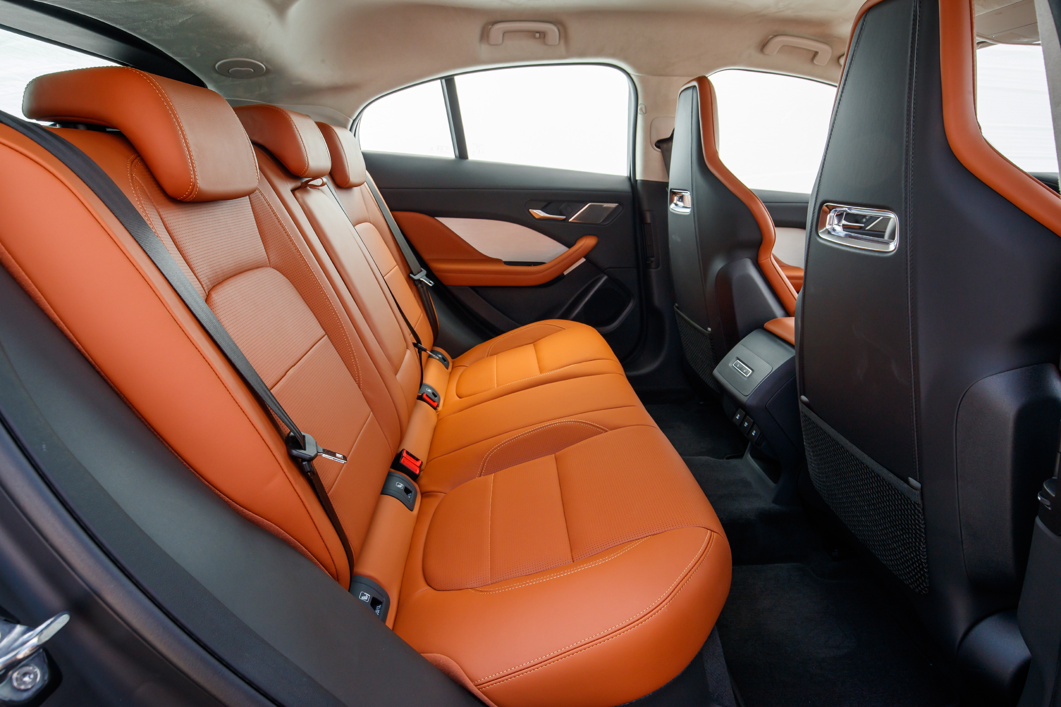 Jaguar I-PACE rear seats