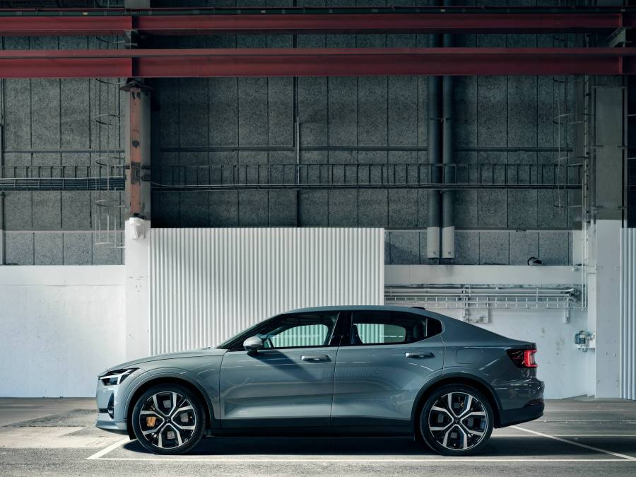 Polestar 2 driver side view